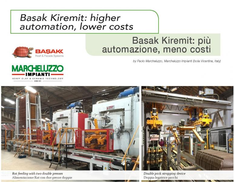 New automation plant in Turky by Marcheluzzo